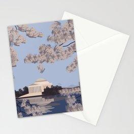 Jefferson Memorial Washington D.C. Print Stationery Cards