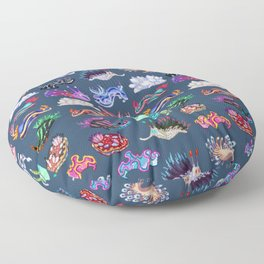 Nudibranch Floor Pillow