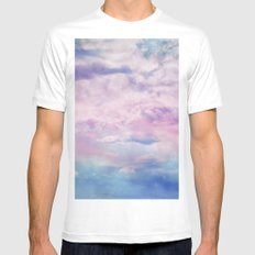 Cloud Trippin' Mens Fitted Tee White MEDIUM