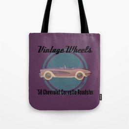 Vintage Wheels - '58 Chevrolet Tote Bag