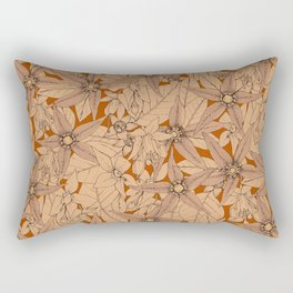 deadly nightshade rust Rectangular Pillow