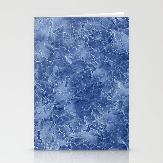 Frozen Leaves 14 Stationery Cards