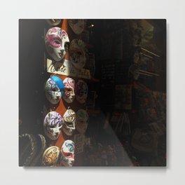 Venetian masks (2) Metal Print