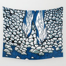 I Might Be A Part Of This Ripple On Water (3-Colour) Wall Tapestry