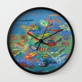 Oceanic Harmony Wall Clock