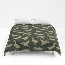 FUCK-TON OF DUCKS Comforters