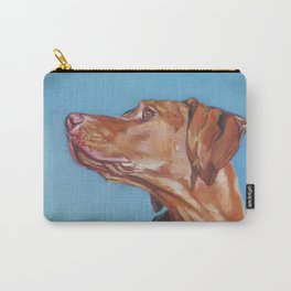 VIZSLA dog art portrait from an original painting by L.A.Shepard Carry-All Pouch