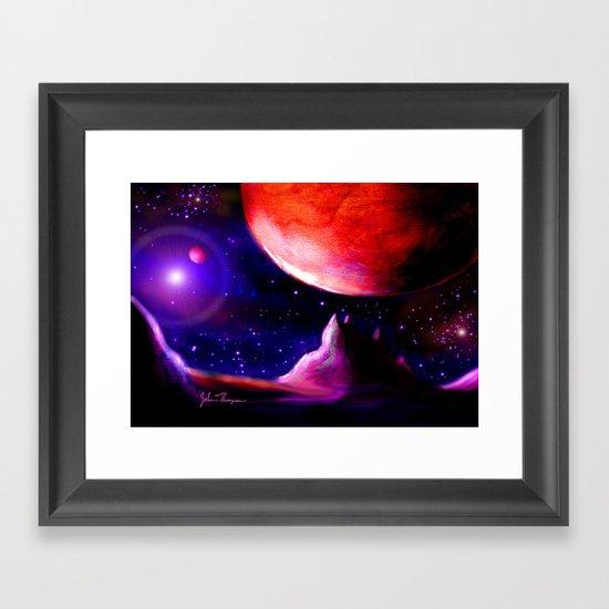 Another world 5 Framed Art Print