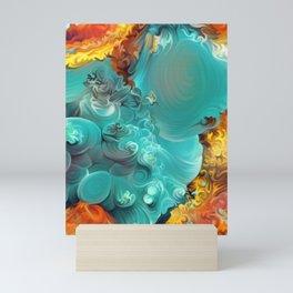 Mineral Series - Rosasite Mini Art Print