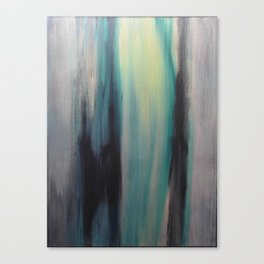 Blue in Green Canvas Print