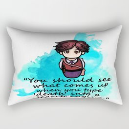 Dr. Spencer Reid Rectangular Pillow