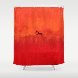 Om Shower Curtain