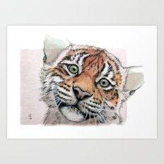 Tiger Cub 887 Art Print