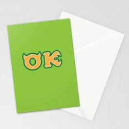 Monster University Fraternity : Oozma Kappa Stationery Cards