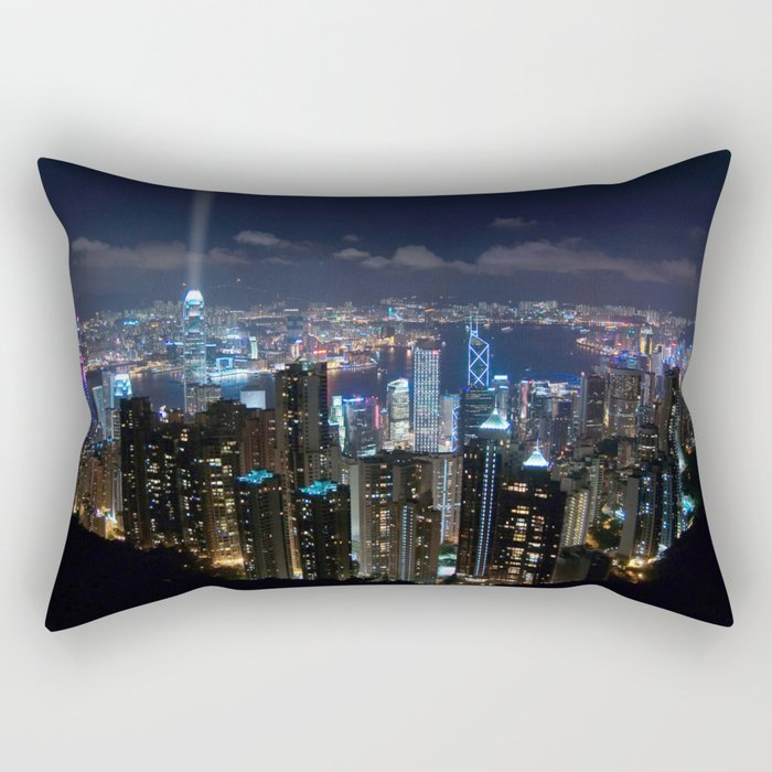 Hong Kong- Victoria Peak Rectangular Pillow
