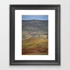 Painted Hills Framed Art Print