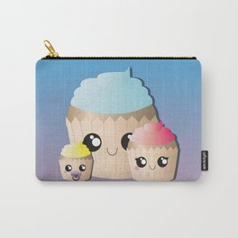 Happy Family Cupcakes Carry-All Pouch