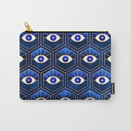 Eyes / Blue Carry-All Pouch