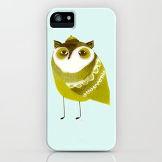 Golden Owl illustration  iPhone (5, 5s) Slim Case