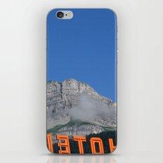 Chamonix hotel iPhone & iPod Skin