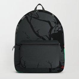 I Miss My Mom Sad Crying Girl Digital Art Backpack