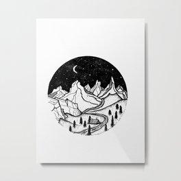 Himalayan night Metal Print