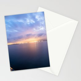 Watching the City lights II Stationery Cards