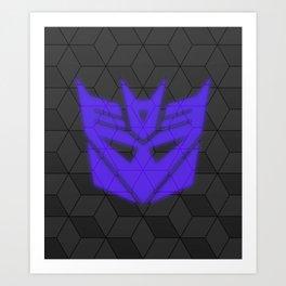 Simply Decepticon Art Print
