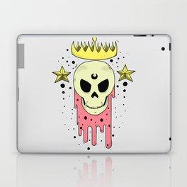 Crowned Skull Laptop & iPad Skin