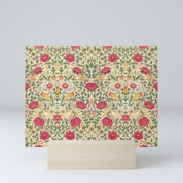 "William Morris ""Rose"" Mini Art Print"
