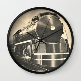 Steam Power Wall Clock