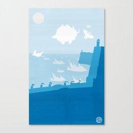 Avatar - Water Book Canvas Print