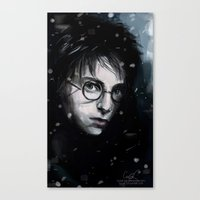 harry Canvas Prints featuring Harry by LucioL