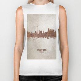 Toronto Canada Rust Skyline Biker Tank