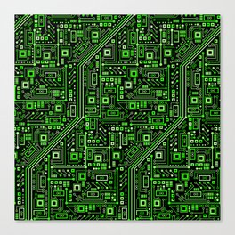 Short Circuits Canvas Print
