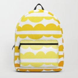 Mordidas Gradient Yellow Backpack