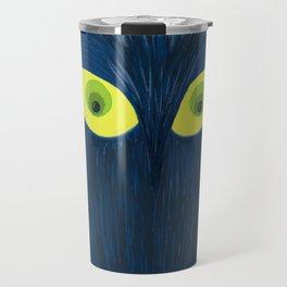 The Blue Owl Travel Mug