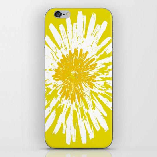Yellow Dandelion iPhone & iPod Skin