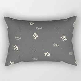 Virgo Pattern Rectangular Pillow