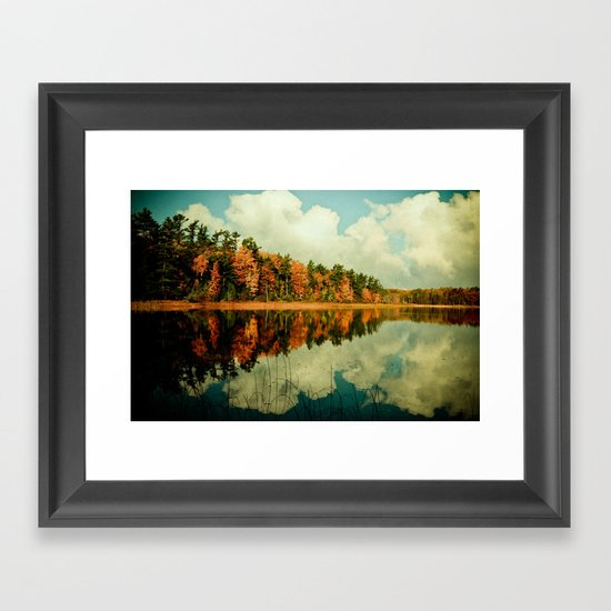 Birth of a Cloud Framed Art Print
