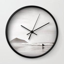Morning Surf, near Tofino, BC, Canada Wall Clock
