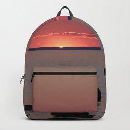 Last Sliver of Sun Light Backpack
