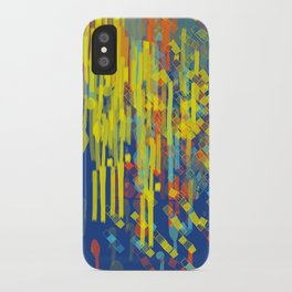 colorfall iPhone Case