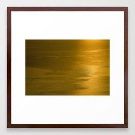 golden brown4 Framed Art Print