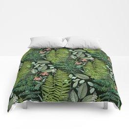 Pacific Northwest Plants Comforters