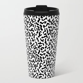 Berlin Boombox Oldschool Pattern Travel Mug