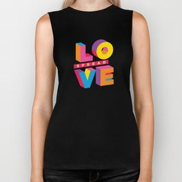 Spread Love Biker Tank