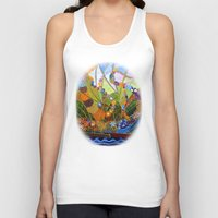 happiness Tank Tops featuring Happiness by Vargamari
