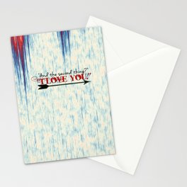and the second thing? Stationery Cards