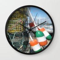 irish Wall Clocks featuring Irish by courtney2k ⚓ design™
